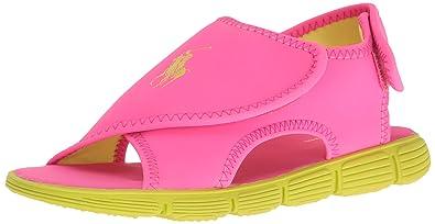 39d7a51707 Polo Ralph Lauren Kids Boys' Banks Water Shoe, Pink/Citron, 7 M