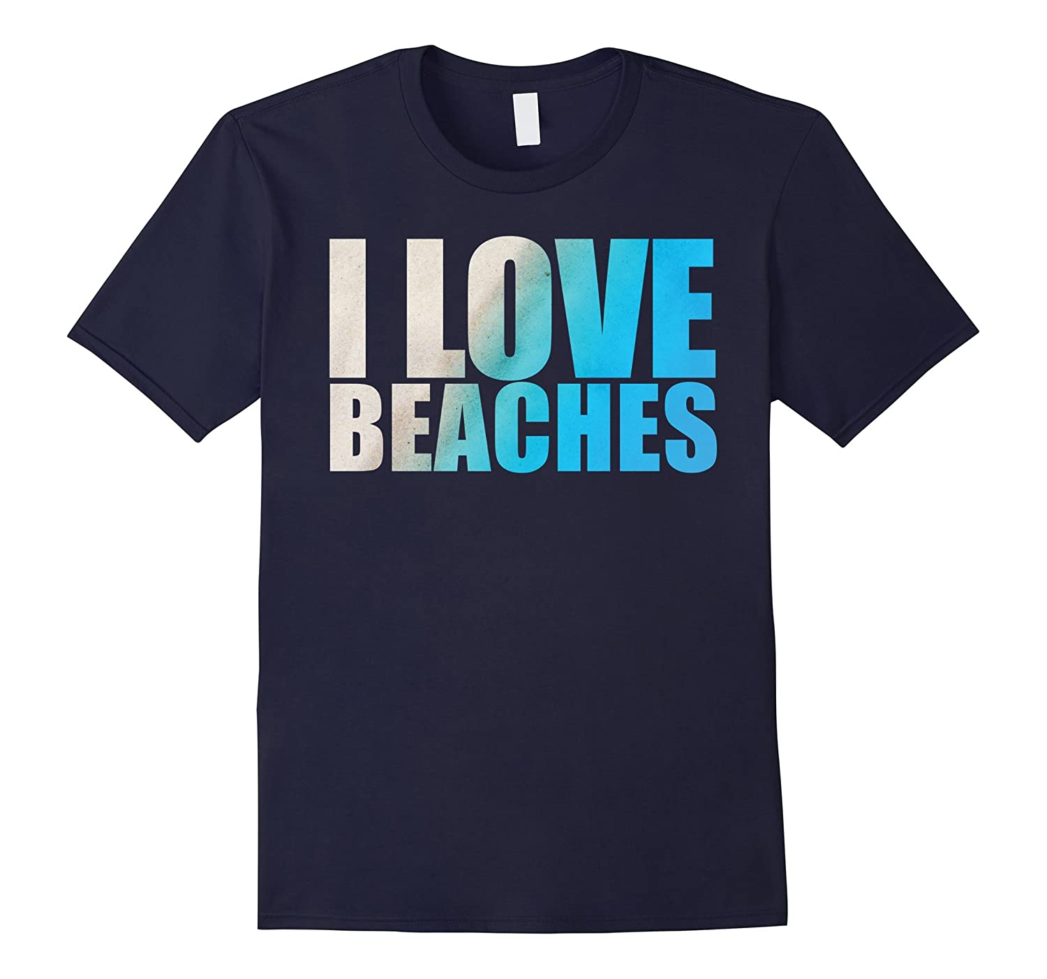Summer Love and Beach T Shirt - Sun Sand Ocean Tee-men women