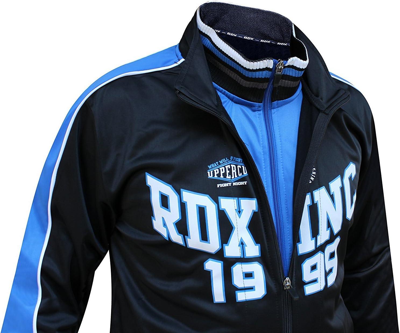 RDX Gimnasio Sudaderas Fitness Chaqueta Ch/ándal Running Entrenamiento