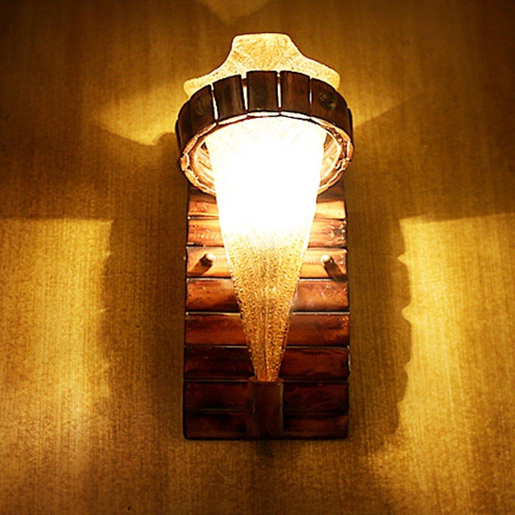 Fu Man Li Trading Company Schlafzimmer Nachttischlampe Nachttischlampe Nachttischlampe Calle Bambus Licht Bambus Licht kreative antike Wandleuchte A B074BVB7KV | Sonderaktionen zum Jahresende  0fd9ca