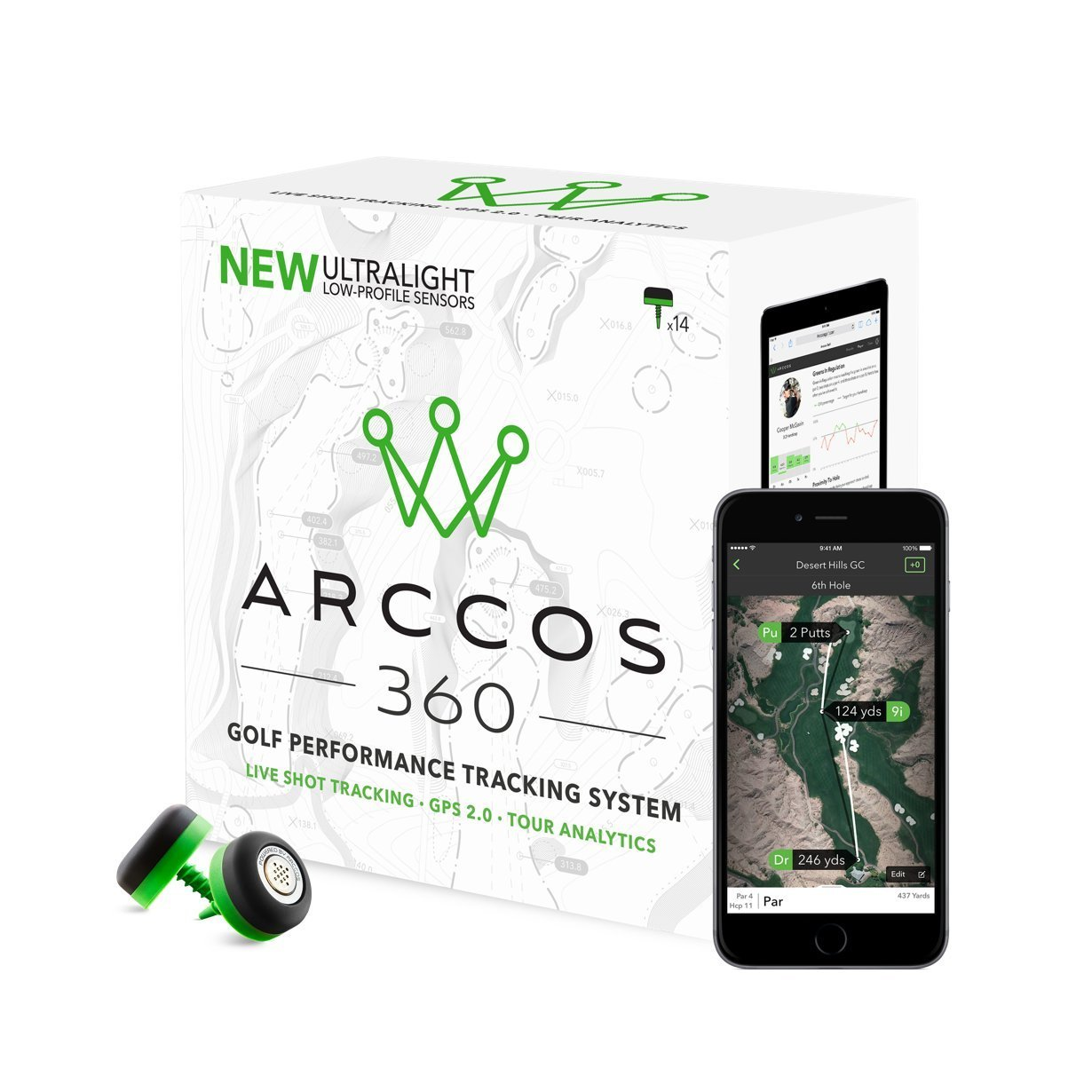 Arccos Golf 360 Golf Performance Tracking System by Arccos Golf