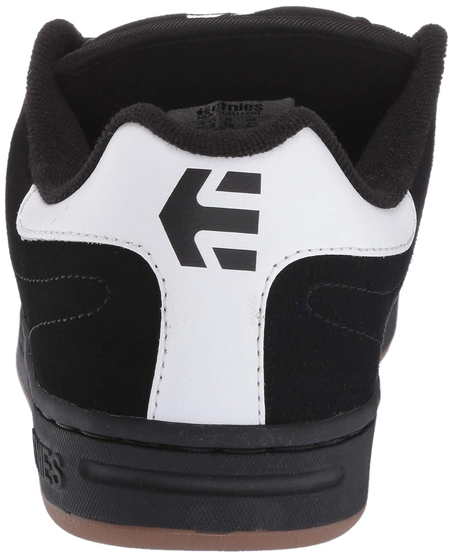 Zapatos Etnies Calli-Cut Negro-Blanco-Negro