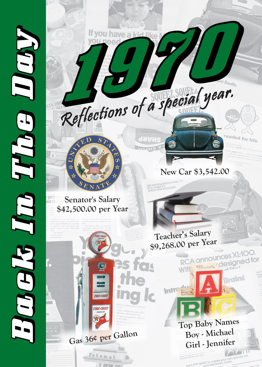 Download 1970 Back In The Day Almanac -- 24-page Booklet / Greeting Card pdf