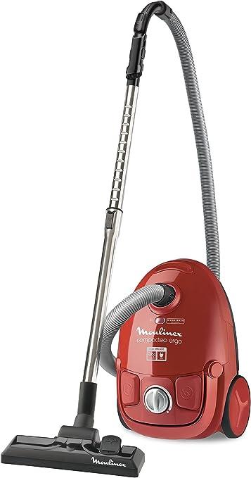 Aspiradora MOULINEX, Compacteo Ergo MO5233PA, color rojo: Amazon.es: Hogar