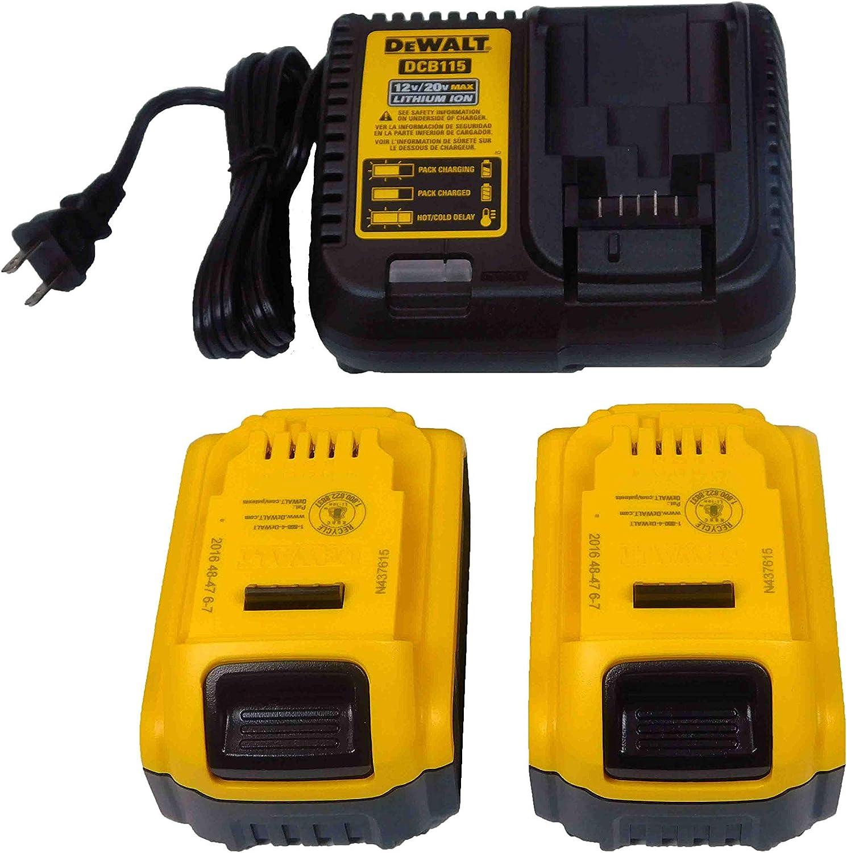 Dewalt DCK299P2 5.0Ah 20V Cordless Brushless Drill 2-Tool Combo Kit