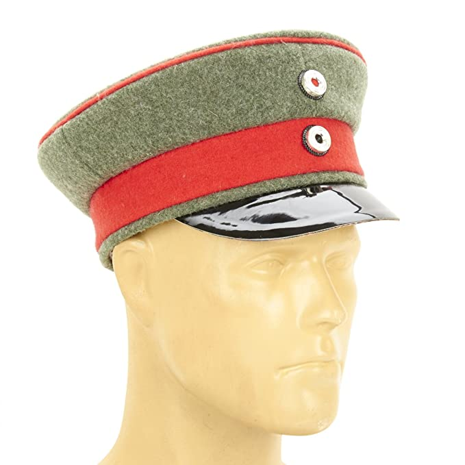 21f905dc4fc Image Unavailable. Image not available for. Color  German WWI M1910 Officer  Visor Cap- ...