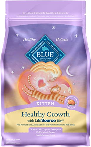 Blue Buffalo Healthy Growth Natural Kitten Dry Cat Food
