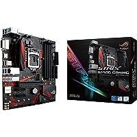 Asus ROG Strix B250G Gaming Motherboard Micro-ATX, Socket LGA-1151, DDR4, HDMI, DVI, M.2, USB 3.1