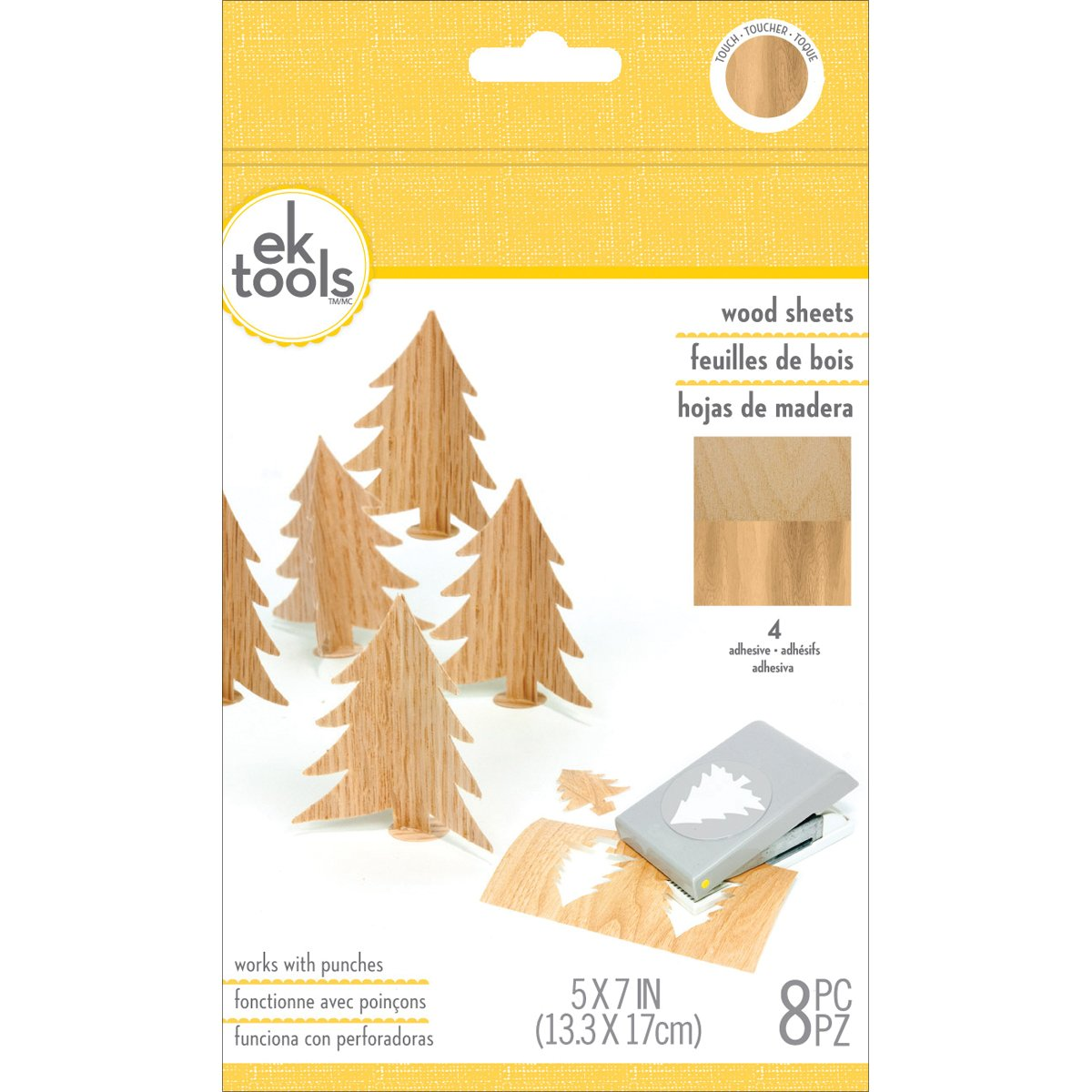 EK Tools 55-59014 Paquete de materiales para perforar madera
