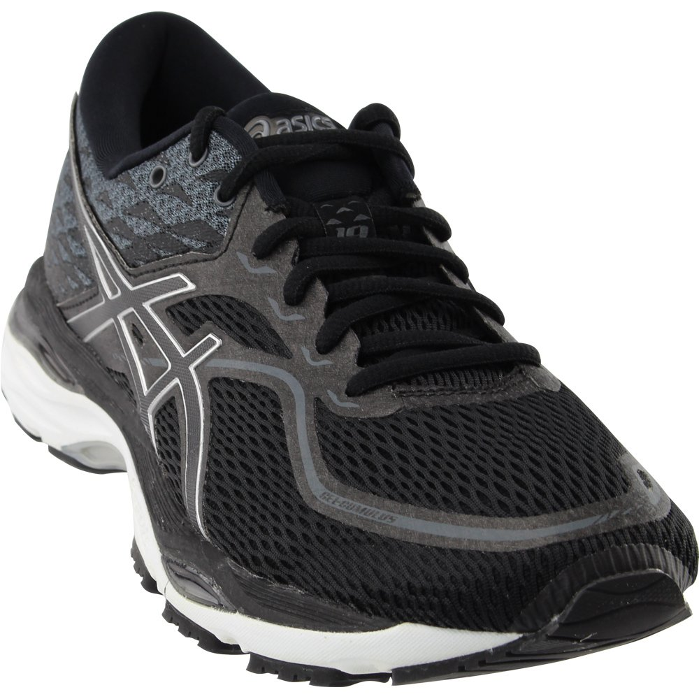 ASICS Men's Gel-Cumulus 19 Running Shoe B077F3QNJB 8 D(M) US|Black/White/Black