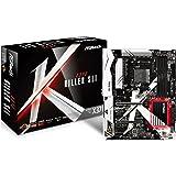 ASRock X370 Killer SLI - Placa Base (Socket AM4, 4X DDR4, Máx. 64GB, HDMI, 6X SATA3, 1x Ultra M.2 (PCIe Gen3 x 4 y SATA3), 1 x M.2, 2X PCIe 3.0 x 16, 4X PCIe 2.0 x 1, 12x USB 3.1 Gen1 (1 Type-C)