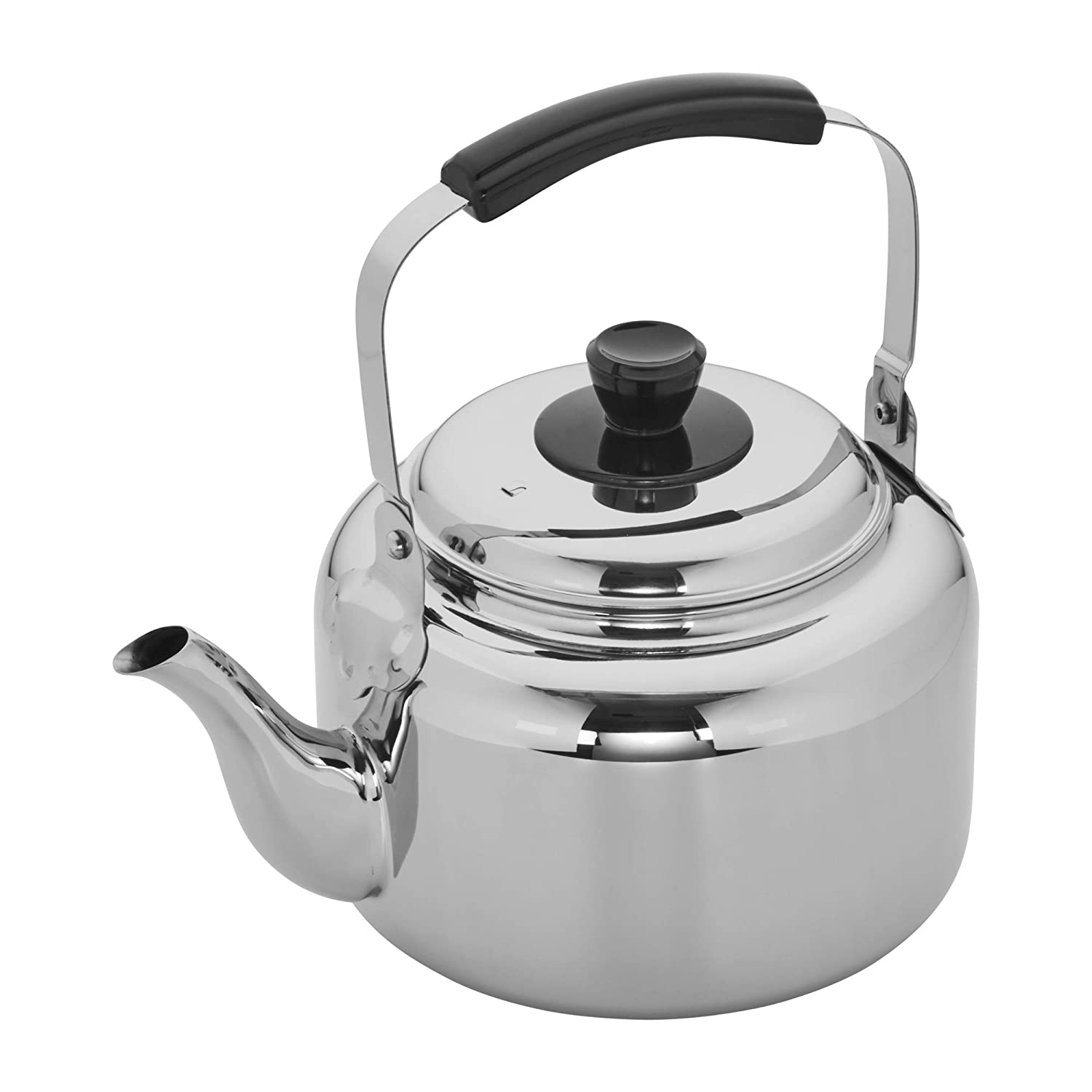 ChangBERT Pour Over Tea Coffee Kettle Gooseneck Stainless Steel Teapot, Works on Gas, Electric, Induction Stovetop – 1L 34oz