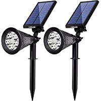 2-Pack. MUIZLUX Outdoor Solar in-Ground Lights