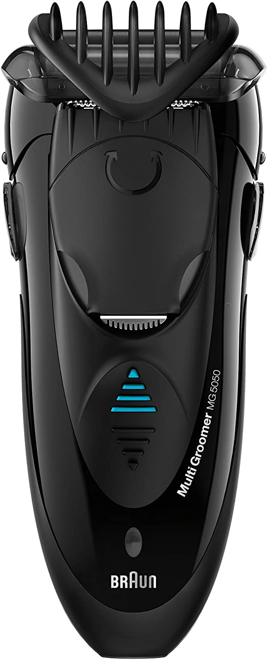 Braun MG5050 Papel aluminio Recortadora Negro - Afeitadora (AC ...