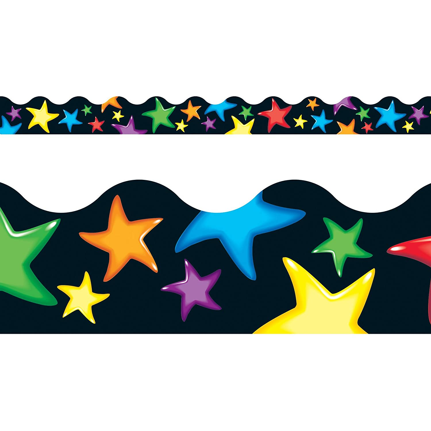 Trimmer for Classrooms 10.5 metre x Poppin Patterns Display Pennant Border