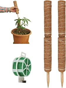 """4 PACK 24"""" Strong Plant Support Poles 