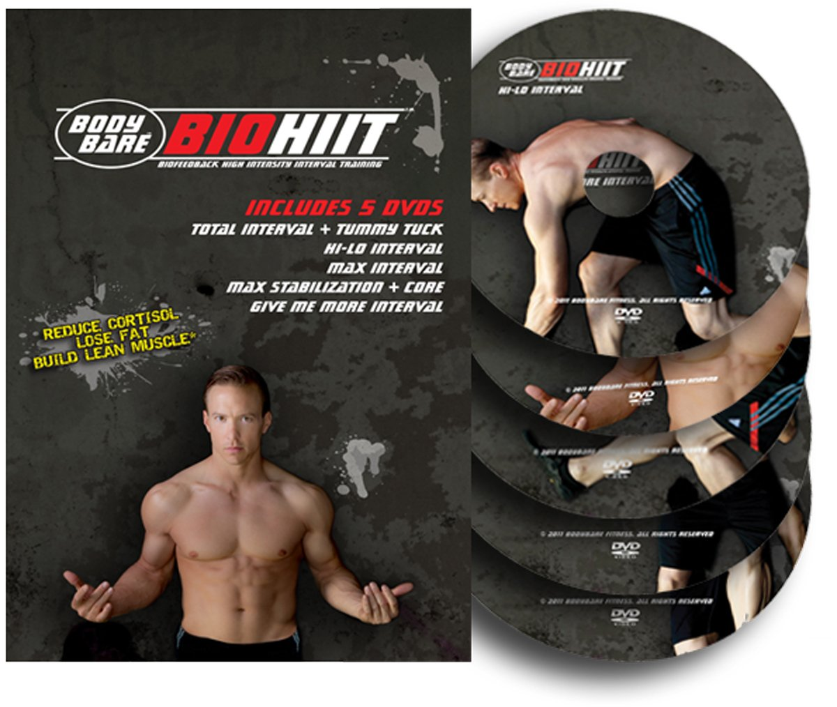 BIOHIIT - BIOfeedback High Intensity Interval Training - 5 DVD Workout