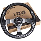 10L0L Golf Cart Steering Wheel or Adapter, Generic of Most Golf cart EZGO Club Car Yamaha