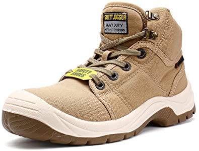 28dbfac0b49 SAFETY JOGGER for Work Men's Steel Toe S3 Level Safety Boots (12 ...
