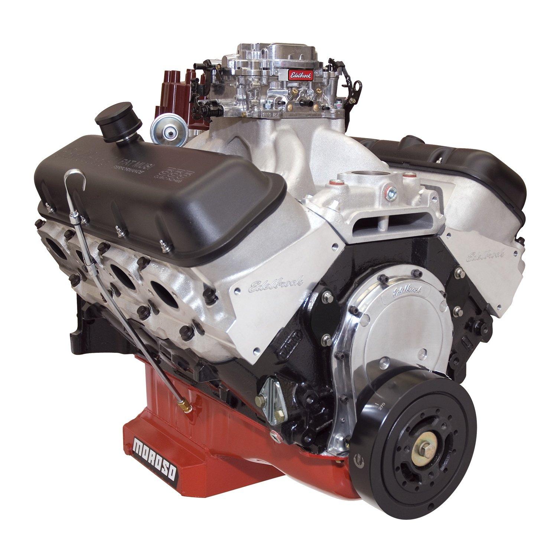 Roller Lifter Cam Water Pump Not Incl Victor 454-R Jr Manifold//RPM Xtreme Heads//Alum Edelbrock 49550 Edelbrock//Musi 555 Crate Engine  Incl Edelbrock//Musi 555 Crate Engine Valve Covers//Roller Rocker Arms//Hyd