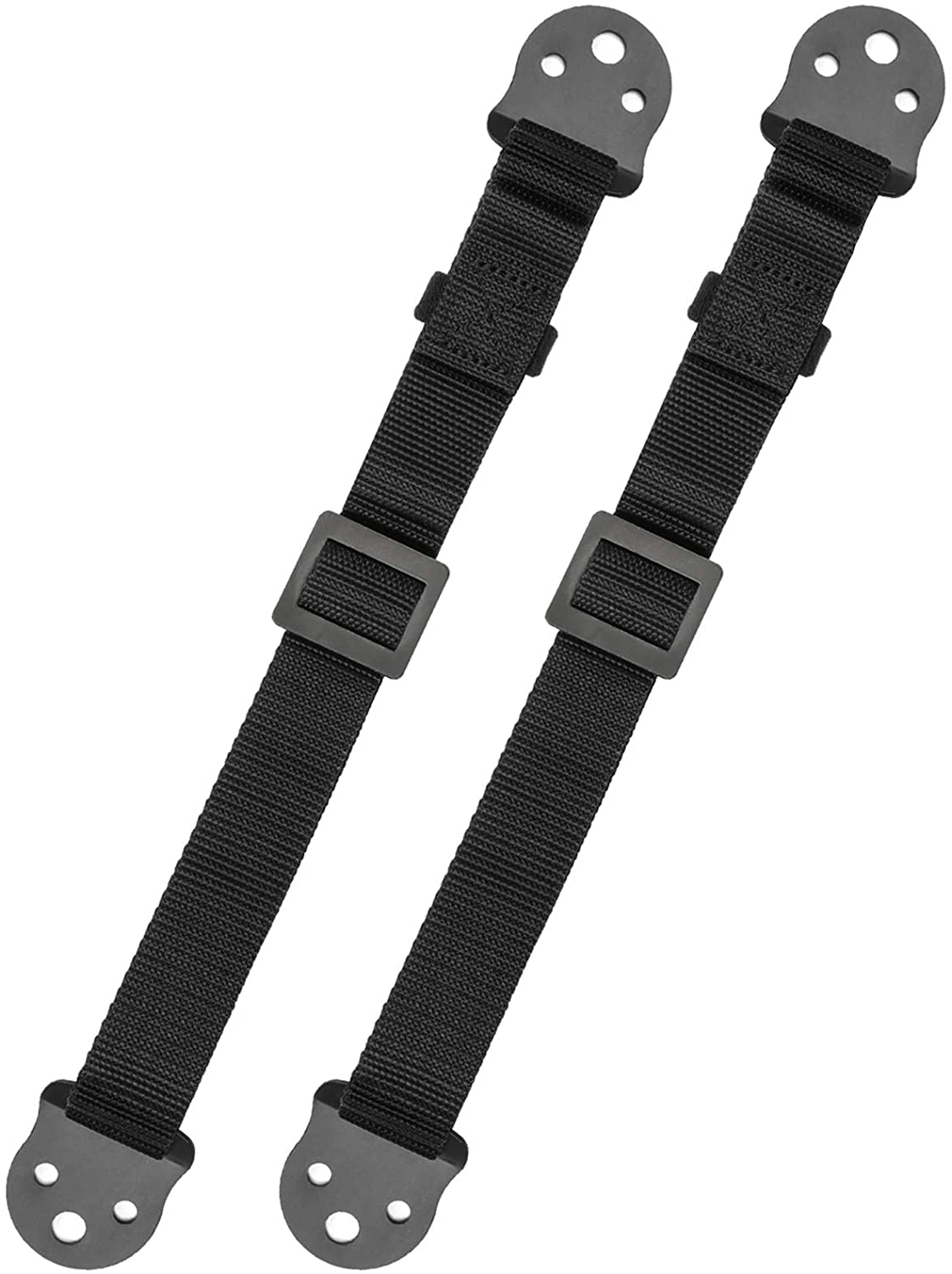 PERLESMITH TV Anti-tip Straps for TV, Screen and Furniture - Heavy Duty Dual TV Safety Straps with Metal Plate for Child Protection-Adjustable Earthquake Resistant Straps Secure Safety