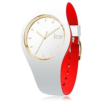 Ice-Watch Reloj Analógico para Mujer de Cuarzo con Correa en Silicona 7229: Amazon.es: Relojes