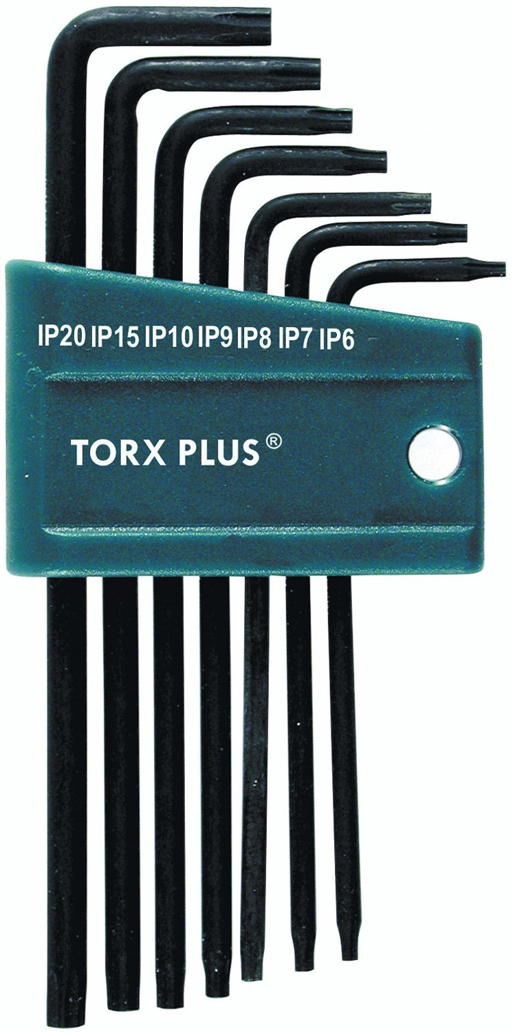 Wiha 36690 Torx Plus Long Arm L-keys, 7 Piezas