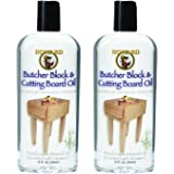 Howard Products BBB012 Butcher Block and Cutting Board Oil, 12-Ounce (2-Pack)