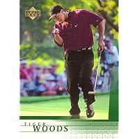 2001 Upper Deck Golf #1 Tiger Woods Rookie Card photo