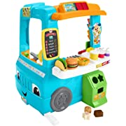 Fisher-Price Laugh & Learn Servin' Up Fun Food Truck English Edition