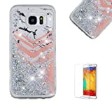 Funyye Liquid Glitter Case for Samsung Galaxy S7