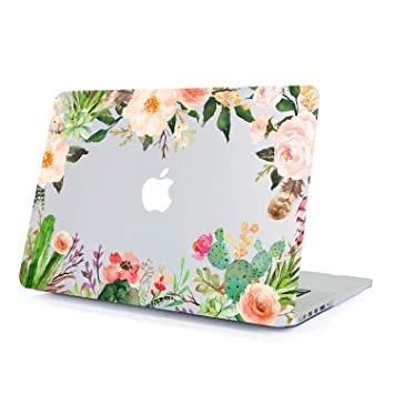 Amazon.com: Lapac A1369/A1466 - Carcasa rígida para MacBook ...