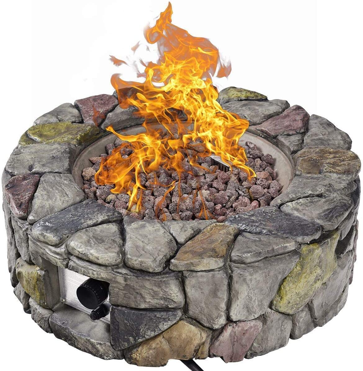 1 2 Inch To 1 Inch Thick For Propane Or Natural Gas Fire Pit Or Fireplace All Natural Gaspro 18lb Fire Pit Lava Rocks Outdoor Heating Coastalcameraclub Patio Lawn Garden