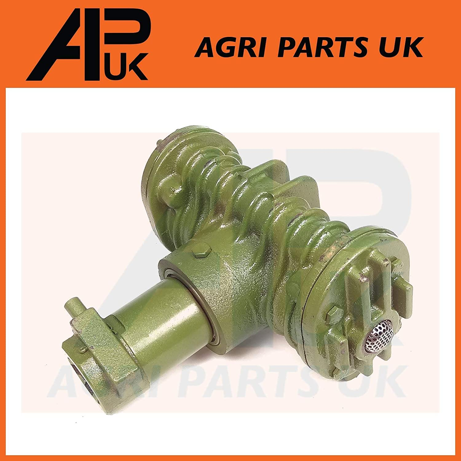 APUK Tractor PTO Air Compressor Twin Cylinder with hose//pipe For field or on site
