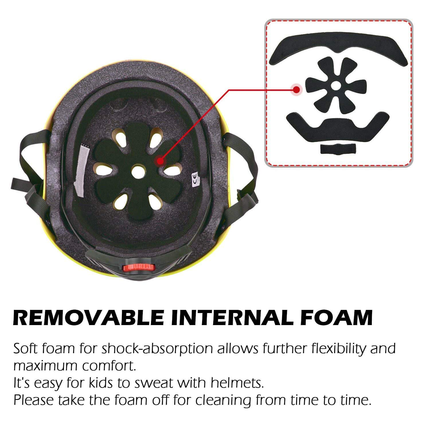 Adjustable Durable for Bicycle Cycling Skateboard Scooter Multi-Sport from Toddler to Youth WIN.MAX Bike Helmet CPSC EN1078 Certified