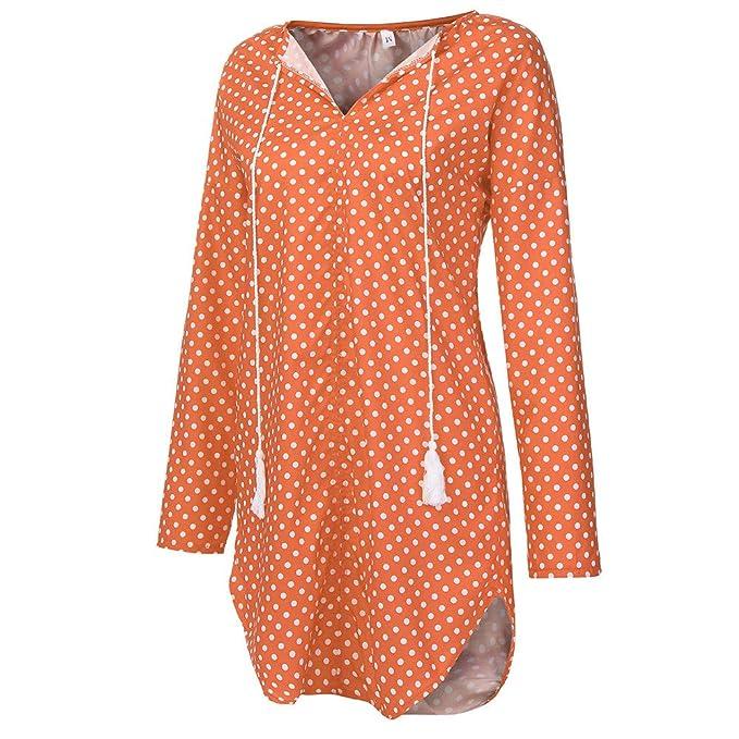 5d301014f27f Innerternet Abito da Sera per Donna con Maniche Lunghe in Velluto a Pois  Sexy  Amazon.it  Abbigliamento