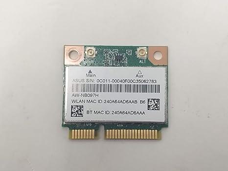 Tarjeta de red Wireless Combo Bluetooth para ASUS X55U Atheros ...