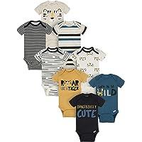 Onesies Brand Baby Boys' 8-Pack Short Sleeve Mix & Match Bodysuits