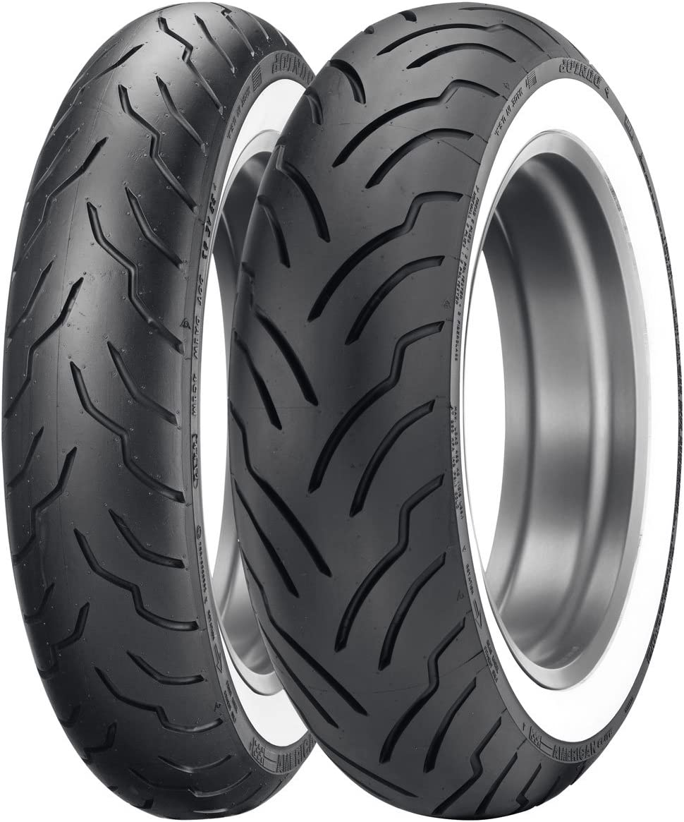 Dunlop American Elite 130//90-16 67H Front Motorcycle Wide Whitewall