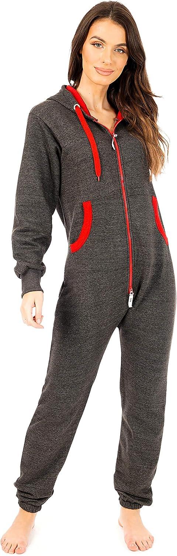 newfacelook Womens Onesie Ladies Jumpsuit All in One Piece Unisex Nightwear