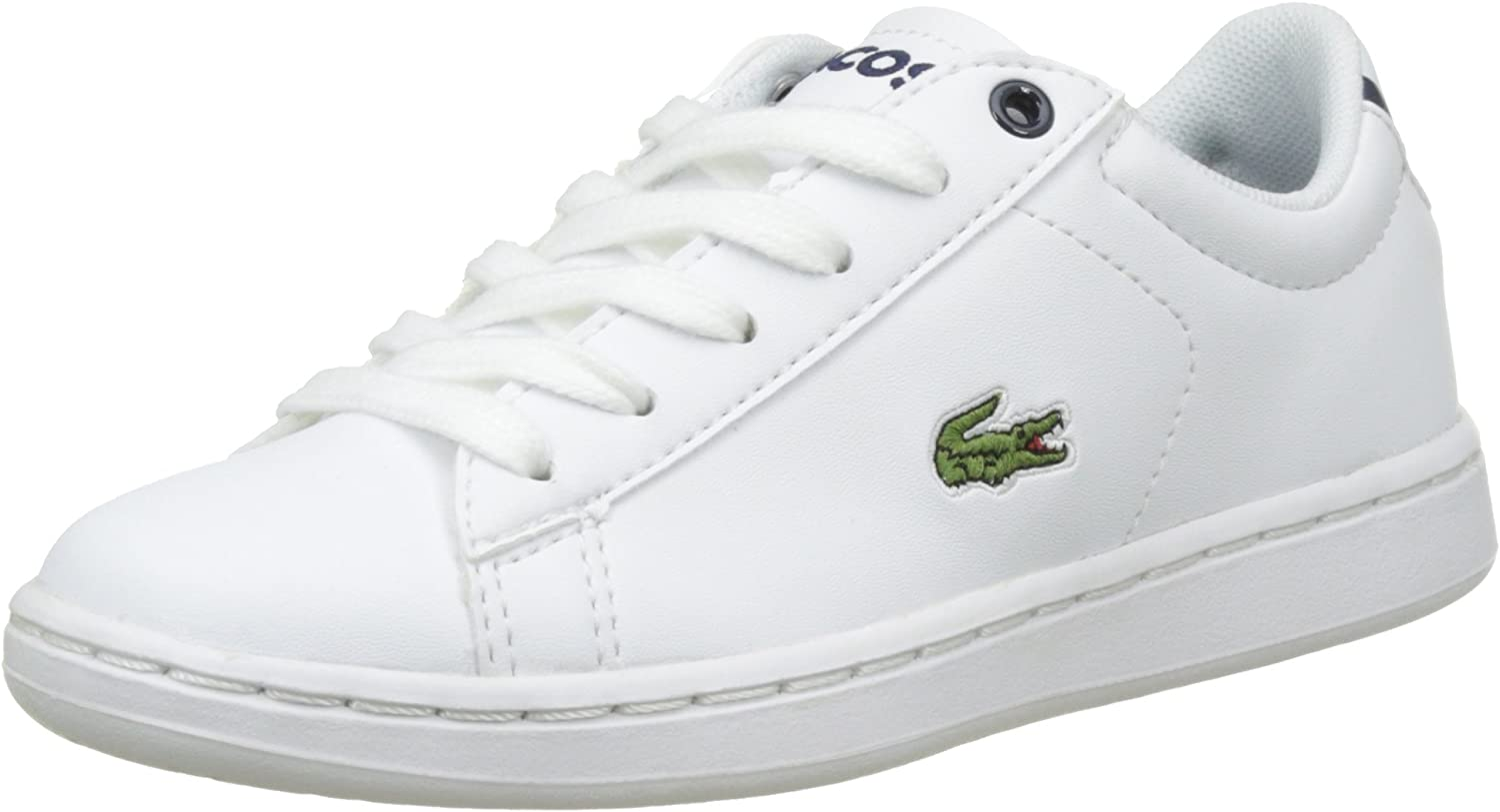 Navy Synthetic Child Trainers Shoes