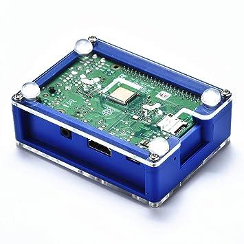 Lujianghuixin Conectores Carcasa Protectora de Caja ABS Azul ...