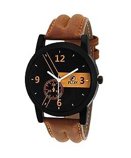 Flux Trendy Analog Black Dial Men's Watch-WCH-FX234