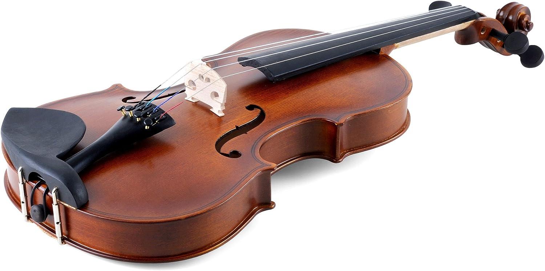 Aileen Violin 1/4 Quarter Size para principiantes Vintage Handmade Outfit con estuche rígido, arco, colofonia, puente y paño de pulido: Amazon.es: Instrumentos musicales