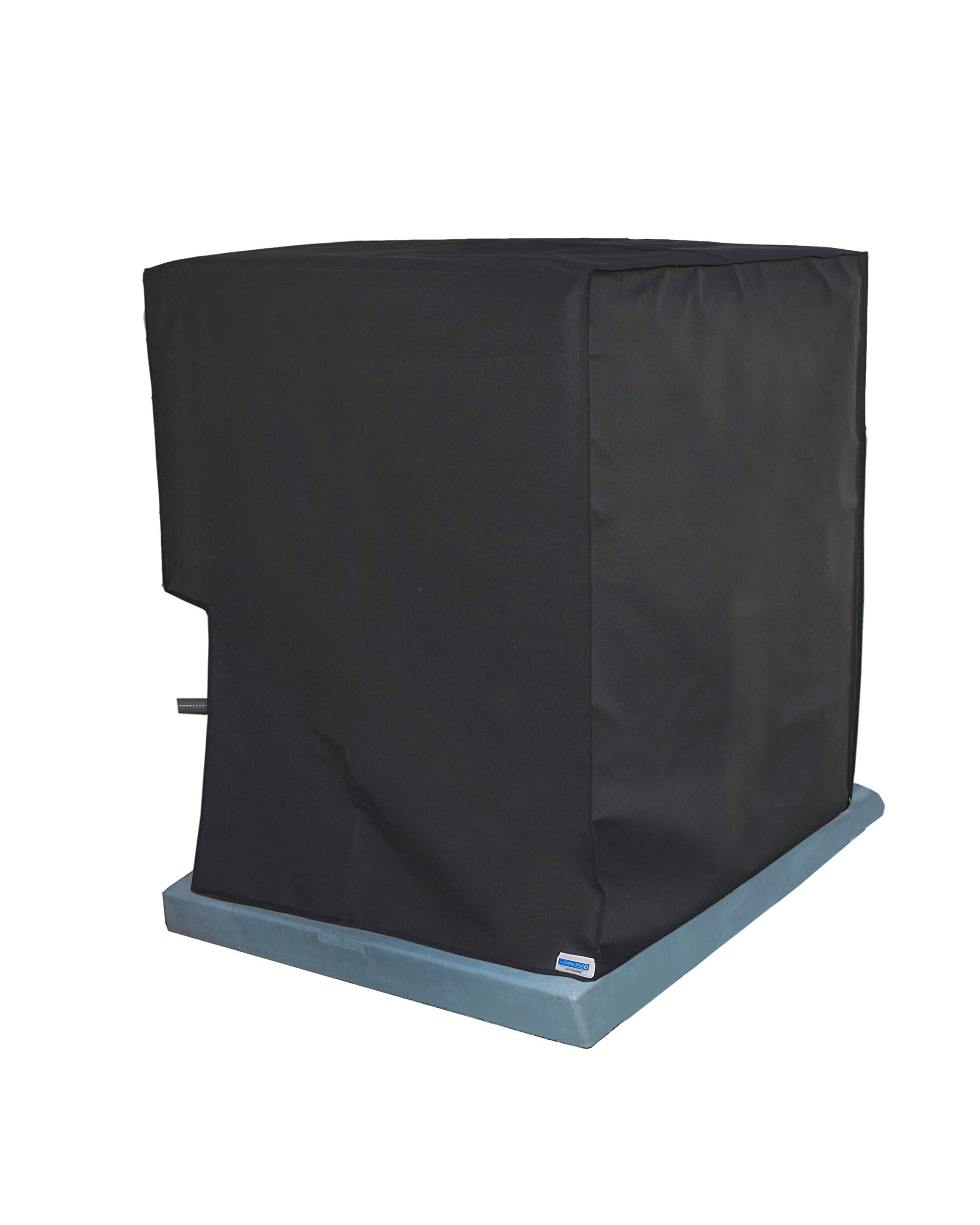 Comp-Bind Technology Waterproof Cover for Air Conditioning System Unit Lennox Merit Model 13ACX-024, Waterproof Black Nylon Cover Dimensions 24.5''W x 24.5''D x 25.5''H by Comp-Bind Technology
