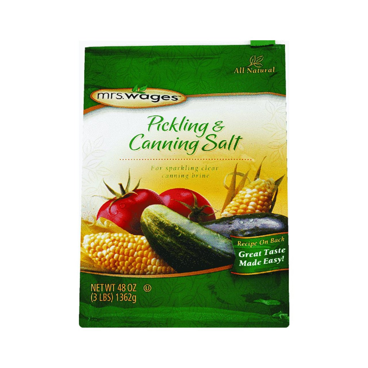 Pickling And Canning Salt 3Lb Mrs Wages BC068099