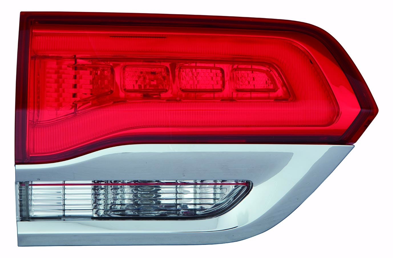 Depo 333-1306L-AF Back Up Lamp Assembly (Jeep Grand Cherokee 14-15 Inner Laredo, Limited, Overland.Summit Model W/O Gray Trim Driver Side Nsf)