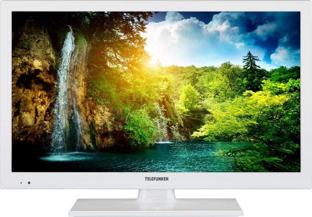 Telefunken televisor LED (56 cm/22 Pulgadas, Full HD) 300 Hz DVB ...