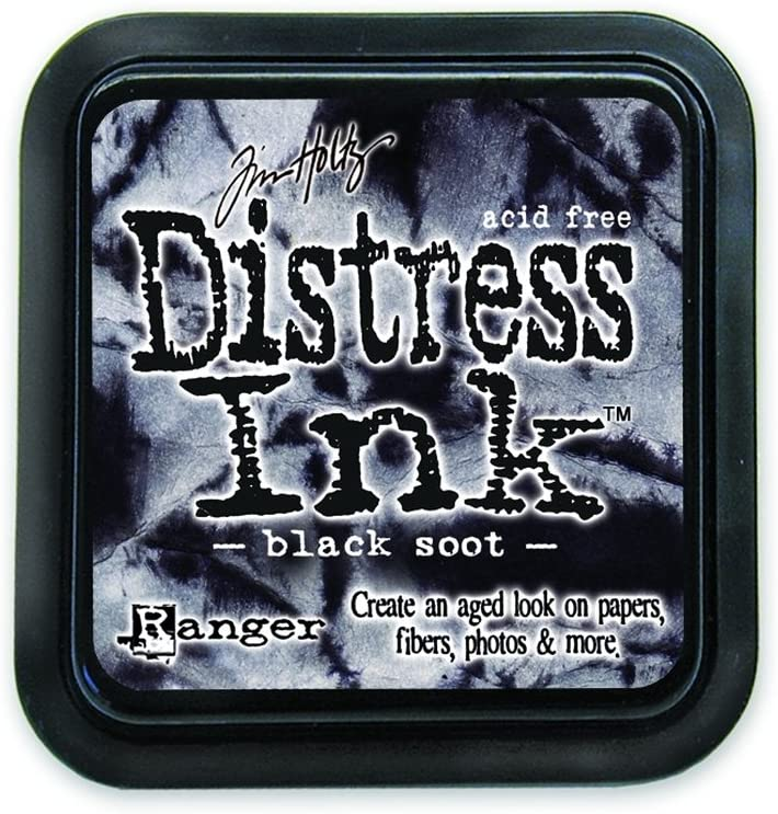 Ranger Tim Holtz Distress Ink Pad, Black Soot