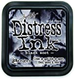 Ranger Tim Holtz Distress Pad, Black Soot